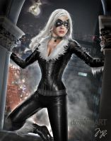Black Cat from Spiderman by Maryneim