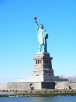 statue of liberty1 by lampshaded-stock