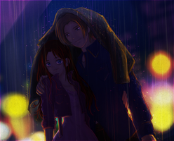 ++Somewhere in the Rainy Night ++ by AngelJasiel