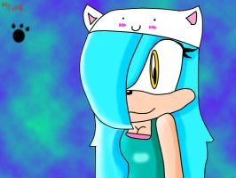 Melody The Hedgehog by xXRawrO3OXx