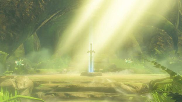 Master Sword by abused-toy