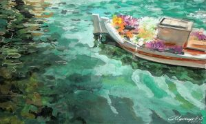 Flowerboat22 by MYMUP45
