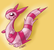 Shiny Furret JT by AbyssinChaos