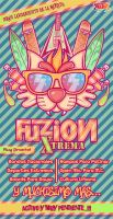 Fuzion Xtrema Flyer by hexthor