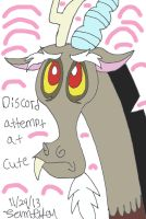 Discord's Attempt at Cute by lcponymerch