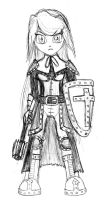 Tensentia: Armored Cleric - Rem Nadon by Node-Gamer