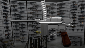 Long Way To Go Mauser C96 with blender by jensdevries