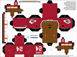 Brandon Flowers Chiefs Cubee by etchings13