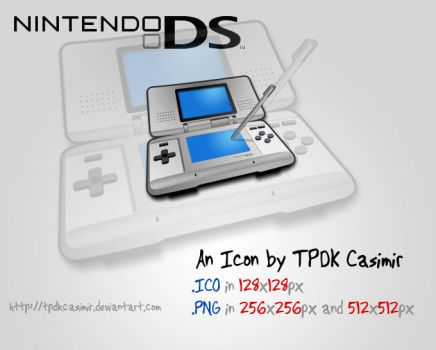 Nintendo DS Icon by TPDKCasimir