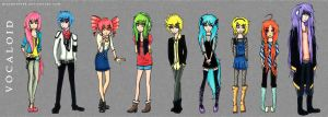 .Vocaloid. by MikiMonster
