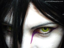 Orochimaru make-up II by Yukilefay