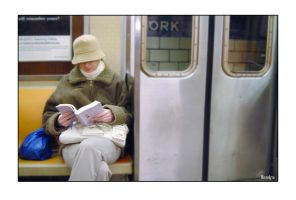 Girl In Subway by hh