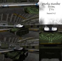 Murky Number Seven T71 by nateman747