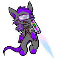 Windy the Jetpack Chao by NeppyNeptune