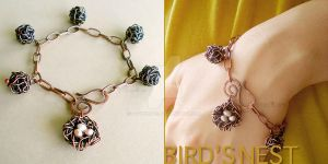 Bird's Nest Bracelet by popnicute