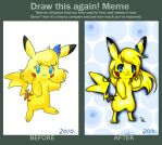 Draw this again. Christal by ChristalLovePkmn