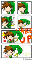 LoZ: WAAAAKEEE UUUUP by GioHawkins