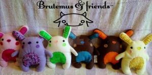 More Bunnies by Brutemusandfriends