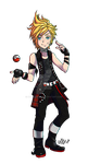 Pokemon Trainer Prompto by nicegal1
