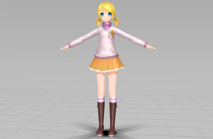 PDXHDSTYLED Dreaming Panda Rin Wip #1 by FlyingSpirits-P