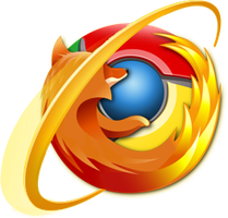 Internet Fox Chrome - PNG by nullstring