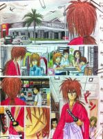 samurai x burger page1 by eve1789