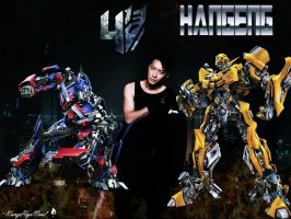 Hangeng Transformers 4 Fan art by KangHyoNeul