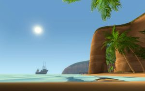 Sunny Paradise by SpaceFishInSpace