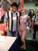 Paul Dini and I by theprincessbee
