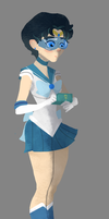 Sailor Mercury by fooshigi