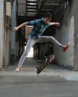 He Was A Skaterboy by DarthPandah