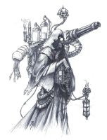 Tech-Priest by Arkkin