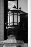 Black and White Lamp by S-H-Photography