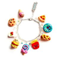 Another fast food bracelet by LittleMissDelicious