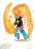 Playing with Fire by superultimateomega