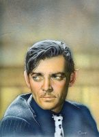 Clark Gable by soakley75