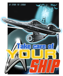 Take care of your ship Star Trek by IrvinIS
