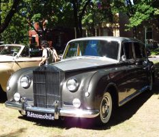 1961 Rolls Royce - Side View by Kitteh-Pawz