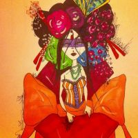 Colorful geisha take four by LovelyLiar