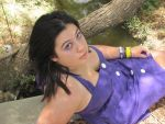 Purple Dress. Stock. 5 by Skysofdreams-Stock
