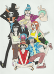 Family portrait -One Piece by Thunderstorms12