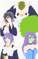 Mizore Shirayuki Becoming the Mask Colored by Firingwall