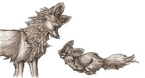 Pencil Fox Series 2 by Joava