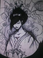 Sharpie geisha! by misterbandit