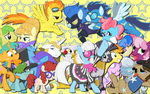 Minor Ponies Wallpaper by AliceHumanSacrifice0