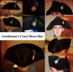 Court Dress Hat 1775 by GeneralVyse