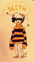 Bees are buzzing in my head by stitchesnumberedby17