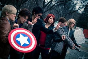 Marvel: Avengers Assemble! by Jim-Moriarty
