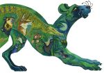Green Panther by Leroks