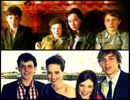 The Pevensies - Then and Now by EdmundLucyLOVAH